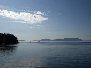 The San Juan Islands from Anacortes