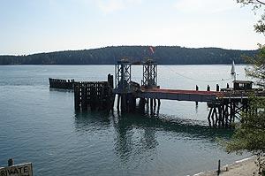 Orcas ferry landing